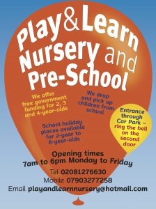 Play and Learn Nursery
